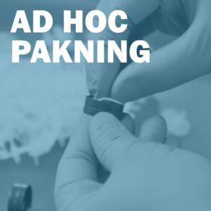 Ad hoc pakning