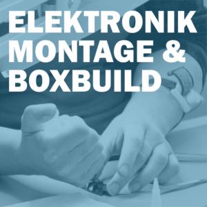 Elektronikmontage & boxbuild